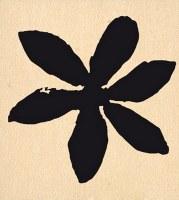 {Hello watercolor}Tampon bois GRANDE FLEUR ETOILEE - Florilèges
