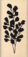 {Hello watercolor}Tampon bois PLANTE FLOUE - Florilèges