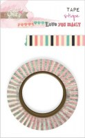 Washi tape STRIPE - Glitz design