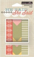 {She said}Decorative tape - Teresa Collins