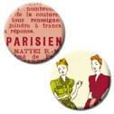 {9 allée des atelier}2 badges PARISIENNES - 4h37