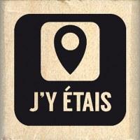 Tampon bois CARRÉ J'Y ÉTAIS - Florilèges