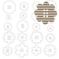 Boutons carton ondulé - Jillibean soup