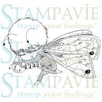 Tampon clear SIMON PAPILLON - Stampavie