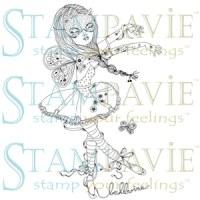 Tampon clear ANGELINE BALLERINE - Stampavie