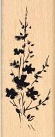 {Hello watercolor}Tampon bois BOUQUET FONDU - Florilèges