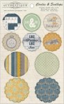 {Strong}Die cuts CIRCLES & SCALLOPS - Authentique