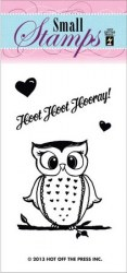 Tampon clear HOOT HOOT - Hot off the press
