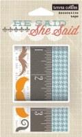 {He said}Decorative tape - Teresa Collins