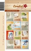 Étiquettes PROJECT LIFE MOIS/ÉVÈNEMENTS  - Lorelaï design