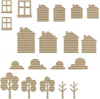 Maisons carton ondulé - Jillibean soup