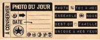 Tampon bois PHOTO DU JOUR - Florilèges