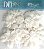 Fleurs MULBERRY blanches - Petaloo