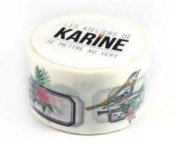 {Se mettre au vert} Masking tape JOLIES ETIQUETTES - Les ateliers de Karine
