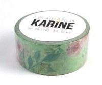 {Se mettre au vert} Masking tape FLORAL - Les ateliers de Karine