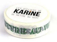 {Se mettre au vert} Masking tape LA NATURE EST BELLE - Les ateliers de Karine