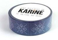 {Se mettre au vert} Masking tape BLEU MARINE - Les ateliers de Karine
