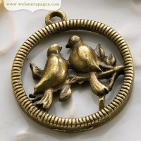 Charm LOVE BIRDS - Webster