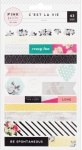 {C'est la vie}Washi stickers - Pink paislee