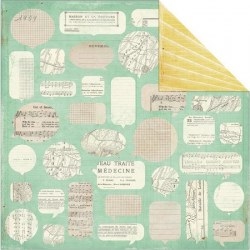 {DIY Shop}Paper Clippings - Crate paper
