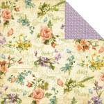 {Secret garden}Beautiful blooms - Graphic 45