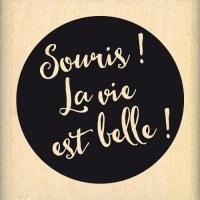 {Capsule juin 2016}Tampon bois SOURIS! - Florilèges