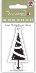 Tampon clear CHRISTMAS TREE - Dovecraft