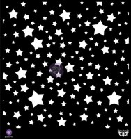Pochoir ELEMENTALS STENCIL STARS - Prima par Finnabair