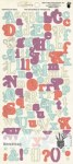 Stickers alphabet LILAC HOUSE - Fancy Pants
