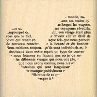 {Capsule mai 2016}Tampon bois COEUR PETIT TEXTE - Florilèges