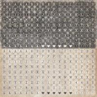 {Timeless}Stickers TYPE - Kaisercraft