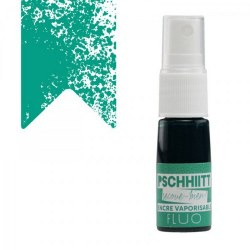 Encre en spray PSCHHIITT n°805 TURQUOISE FUSION - Kesi'art