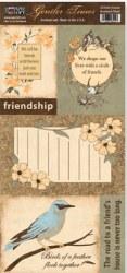 {Gentler times}Feuille à découper FRIENDS - Paper loft