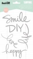 Tampons clear SMILE - Kesi'art
