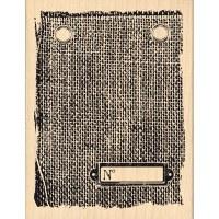 Tampon bois PIECE DE JUTE - Florilèges
