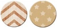 {Pause café}2 badges TEXTURE CAFE - Pandore