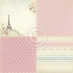 "{Paris flea market 6x6""}By the eiffel tower - Pion design"