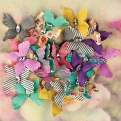 {Hello pastel}Papillons papier - Prima