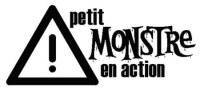 Tampon bois PETIT MONSTRE EN ACTION - Evanescence design