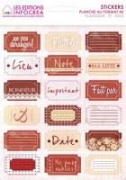 Stickers CLASSIQUE TICKETS - Infocréa