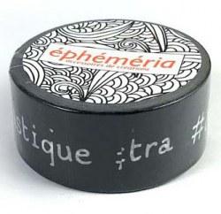 Masking tape MOTS HASHTAG FOND NOIR - Ephemeria