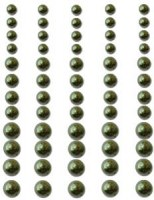 Perles autocollantes GRASS GREEN - Queen & co
