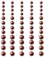 Perles autocollantes CHOCOLATE DELIGHT - Queen & co