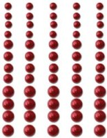 Perles autocollantes CLASSY RED - Queen & co