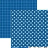 {Petits pois carottes}Bleu electrik - Kesi'art