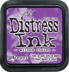 Distress ink - Wilted violet