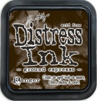 Distress ink - Ground espresso