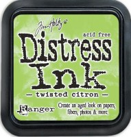 Distress ink - Twisted citron