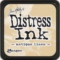 Mini encreur distress ANTIQUE LINEN