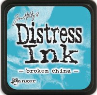 Mini encreur distress BROKEN CHINA